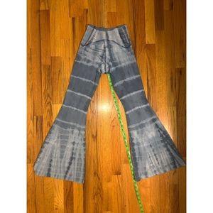 Free people Tie dye yoga legging pant Petite XS